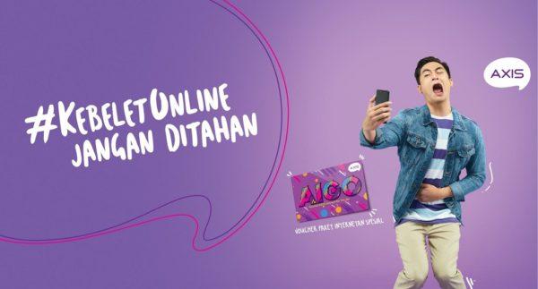 Hanya dengan Rp. 5.000, Bisa Membeli Paket Internet Axis